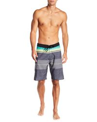 Rip Curl - Gray Eclipse Board Shorts for Men - Lyst