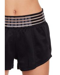 75121207c698 Lyst - PUMA Fusion Logo Waistband Shorts in Black