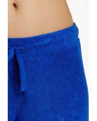 N Natori Blue Terry Lounge Pant