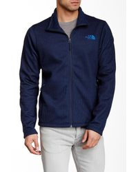 The North Face Blue Krestwood Full Zip Sweater for men