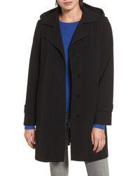Gallery - Black Walking Raincoat - Lyst