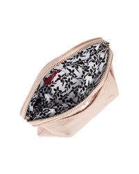Hobo - Pink Daria Leather Crossbody Clutch - Lyst