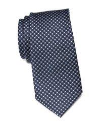 Ben Sherman Blue Omer Neat Silk Tie for men