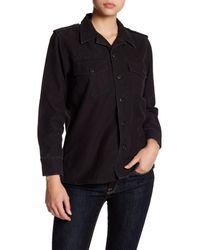 Equipment - Black Major Shirt Jacket - Lyst