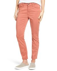 Jen7 | Multicolor Colored Stretch Ankle Skinny Jeans | Lyst