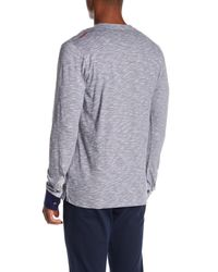 Maceoo - Gray V-neck Pullover for Men - Lyst