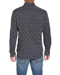 John Varvatos - Gray Extra Slim Fit Sport Shirt for Men - Lyst