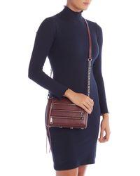 Rebecca Minkoff Multicolor Mini 5 Zip Leather Crossbody Bag