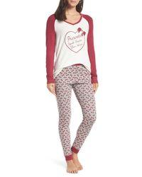 Make + Model Multicolor Holiday Pajamas