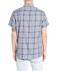 Treasure & Bond - Blue Bryce Plaid Shirt for Men - Lyst