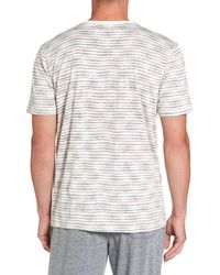 Daniel Buchler - White V-neck T-shirt for Men - Lyst