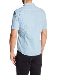BOSS Blue Bershy Printed Slim Fit Shirt for men