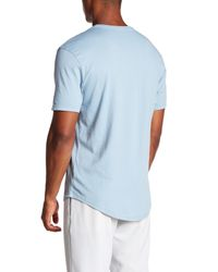 JEFF - Blue The Pines V-neck Tee for Men - Lyst
