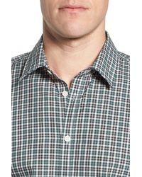 Jeremy Argyle Nyc Multicolor Comfort Fit Plaid Sport Shirt for men
