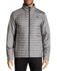 The North Face - Gray Initiator Thermoball Triclimate Jacket for Men - Lyst