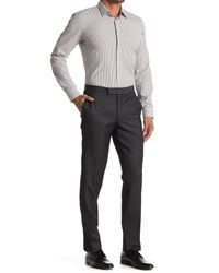 Ted Baker Gray Josh Tux Solid Pants for men