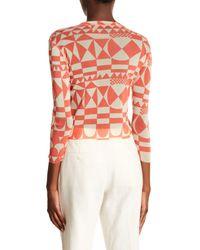 Petit Pois Orange Patterned Button Down Shirt