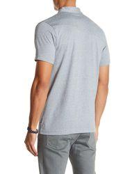 Volcom Blue Wowzer Polo Shirt for men