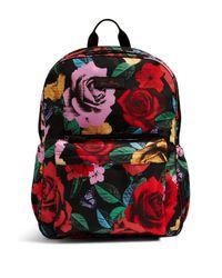 Vera Bradley Red Grande Laptop Backpack