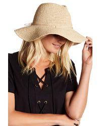 Helen Kaminski - Natural Sefa Woven Hat - Lyst