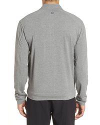 tasc Performance Gray Carrollton Zip Jacket for men