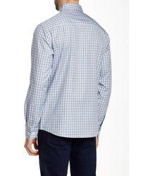 Vince Camuto - Blue Printed Long Sleeve Regular Fit Shirt for Men - Lyst