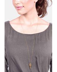 Gorjana | Metallic Cersi Long Pendant Necklace | Lyst