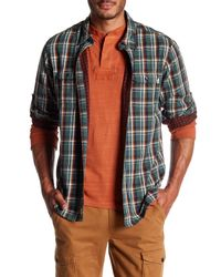 Timberland - Multicolor Plaid Long Sleeve Regular Fit Shirt for Men - Lyst