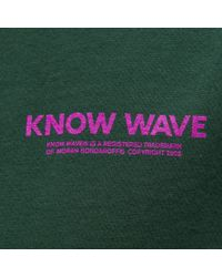 Know Wave Tm T-shirt In Forest Green for men