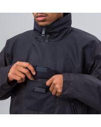 Acne Mt3003 Parka In Black/navy for men