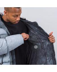 Stone Island - Black 70253 Tela Nylon Down Frost Jacket for Men - Lyst