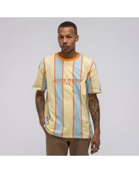 Guess - Multicolor A$ap Usa Stripe Tee In Multi for Men - Lyst