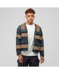Cav Empt Green Mesh Zip Jacket for men