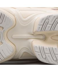 Adidas By Raf Simons White Ozweego Bunny Low-Top Sneakers  for men