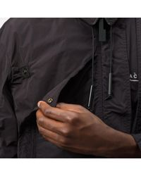 A_COLD_WALL* Black Multipanel Coat for men