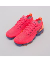Nike Air Vapormax Flyknit 2 In Red