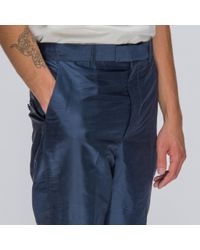 Martine Rose - Slim Trousers In Blue for Men - Lyst