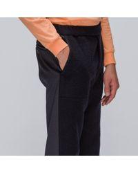 Stephan Schneider Blue Counter Trousers In Navy for men
