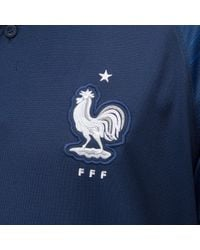 Nike Blue France Home Stadium Jersey for men