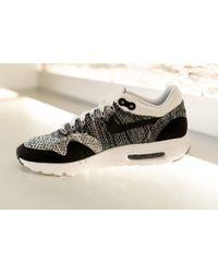 Nike | Black Air Max 1 Ultra Flyknit for Men | Lyst