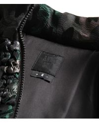Anna Sui - Black Shimmer Camouflage Bomber Jacket - Lyst