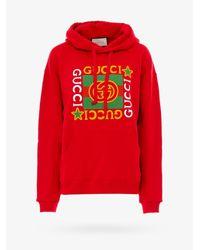 Gucci Red Sweatshirt