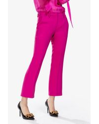 N°21 Pink Cropped Tailored Pants
