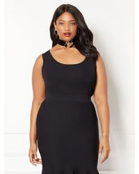 New York & Company - Black Eva Mendes Collection - Nuria Sweater Shell - Plus - Lyst