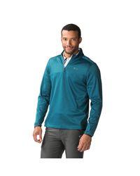 Blue Scores 1/4-zip Golf Pullover di Oakley da Uomo