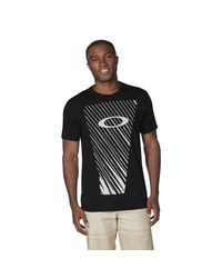 White O-hazard Mix Tee di Oakley da Uomo