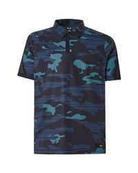Velocity Polo Oakley pour homme en coloris Blue