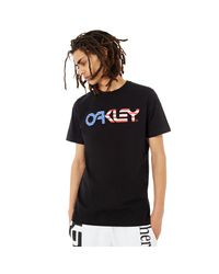 Oakley Blackout Tnp Short Sleeve T-shirt - California Flag für Herren