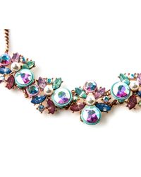 Oasis - Blue Bubblegum Collar - Lyst