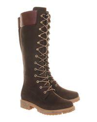Timberland Brown 14 Inch Premium Boot